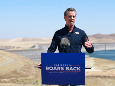 Newsom in Merced County declares drought