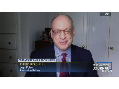 Phil Brasher appears on Washington Journal