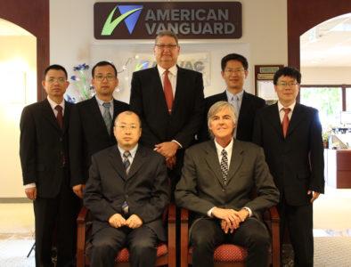 AMVAC Chinese visit
