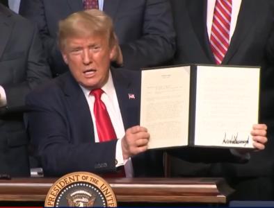 Trump signs memo