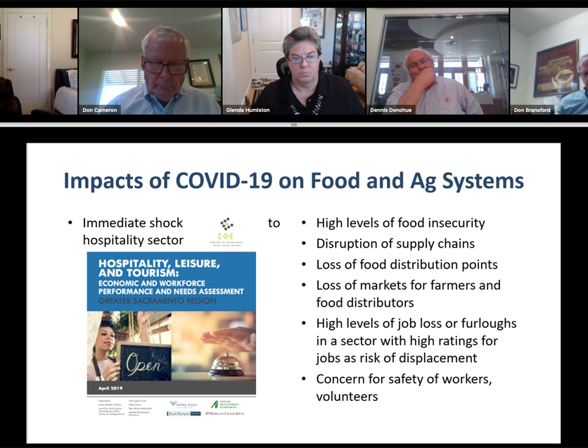 Glenda Humiston COVID impacts