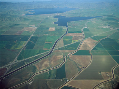 San Luis Reservoir and the San Joaquin Valley