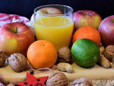 apples walnuts orange juice