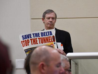 delta tunnel protestor