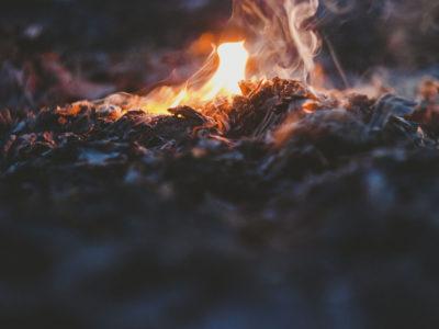 fire ash