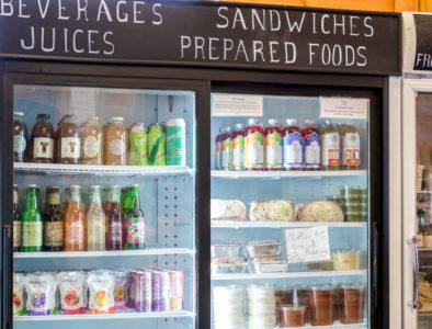 store fridge