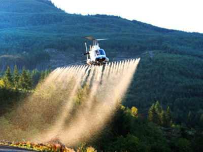 helicopter sprayer