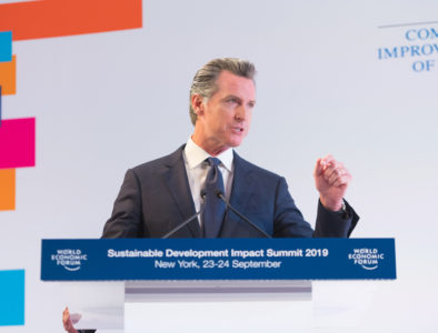 Gavin Newsom at Climate Week