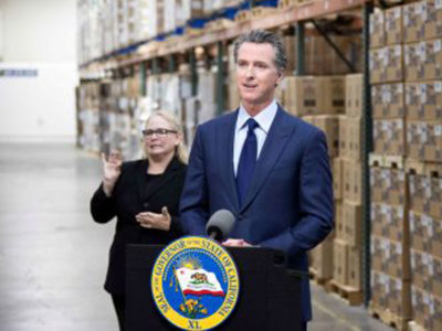 Newsom low res in warehouse