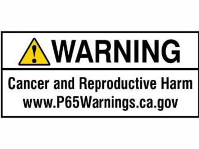 Prop 65 label