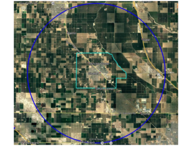 Shafter map