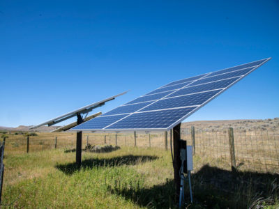 solar panels USDA