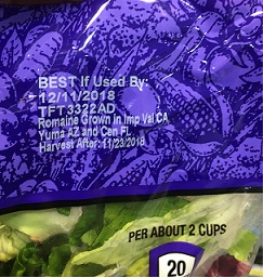 romaine label