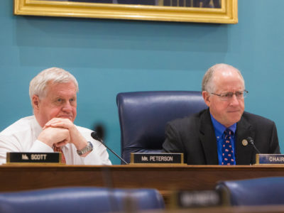 Reps. Mike Conaway and Collin Peterson