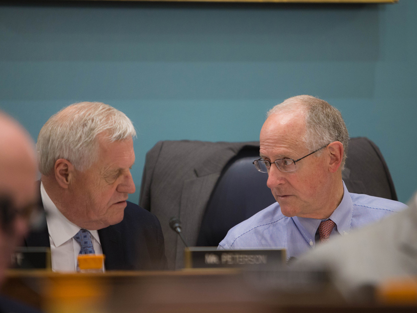 House Ag Committee Chair Mike Conaway and Ranking Member Collin Peterson
