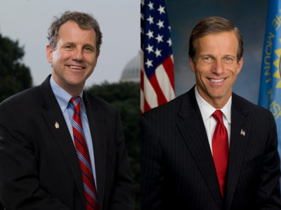 Sherrod Brown and John Thune