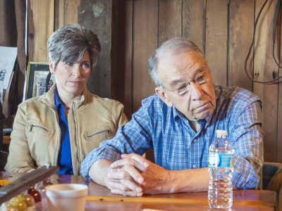 Chuck Grassley and Joni Ernst