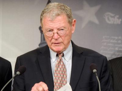 Sen. Jim Inhofe, R-Okla.