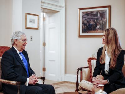 Mitch McConnell and Kelly Loeffler