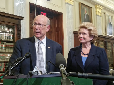 Pat Roberts and Debbie Stabenow