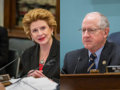 Debbie Stabenow and Mike Conaway
