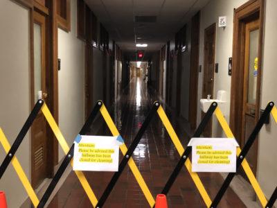 USDA quarantined wing