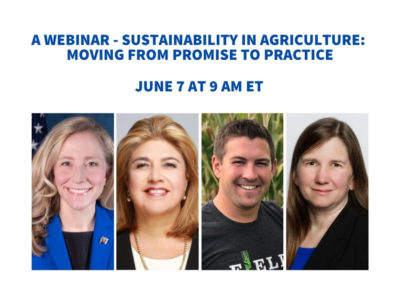 Sustainability in Agriculture: Moving from promise to practice