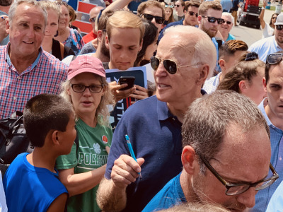 Joe biden iowa state fair 8819 7
