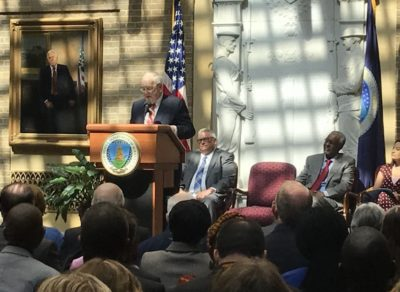 Quinn at World Food Prize Laureate 2018
