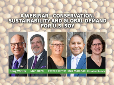 Conservation, Sustainability and Global Demand for U.S. Soy