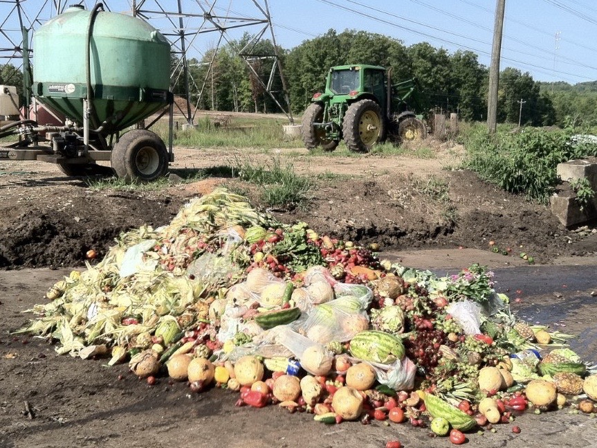 Food waste - produce (EPA photo)