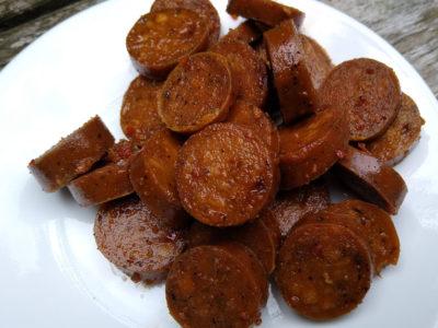 Tofurky plant-based sausage