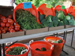Farmers Market Produce Stand