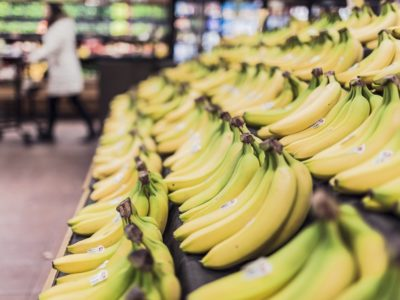 bananas in store