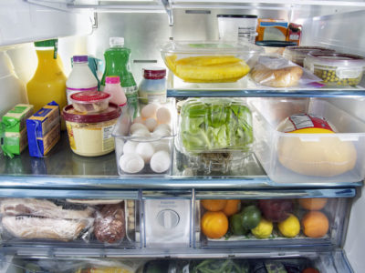 Food refrigerator storage