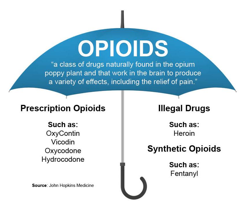 Opioid Umbrella Graphic