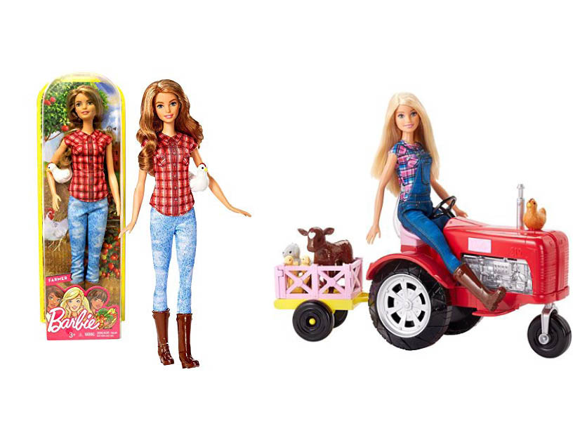 Farmer Barbie Comparison