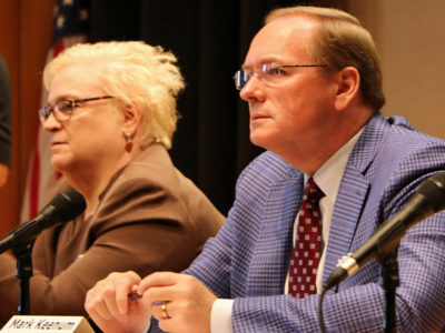 Sally Rockey and Mark Keenum