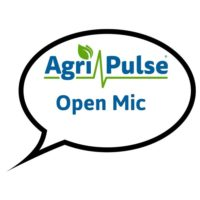 Open Mic Podcast logo