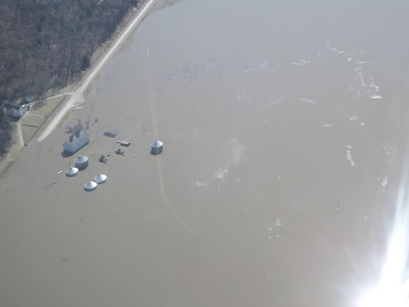 Flood waters cause millions in agricultural economic losses | 2019