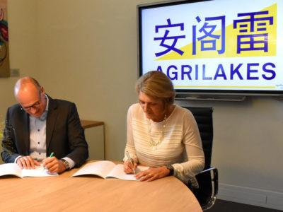 Agrilakes signing