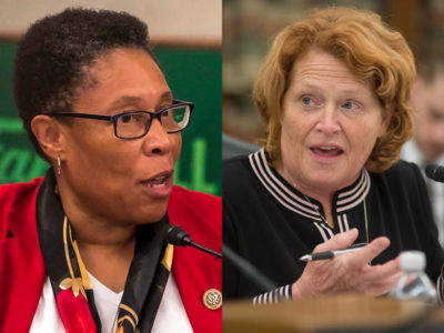 Marcia Fudge and Heidi Heitkamp