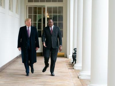 Donald Trump and Uhuru Kenyatta