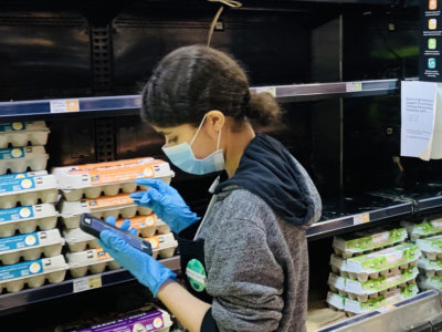 Egg shopping