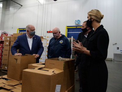 Food box program perdue trump hogan