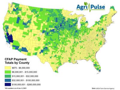 CFAP payment map