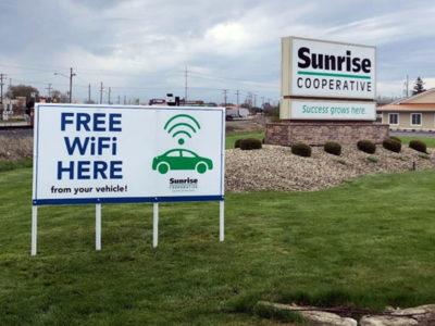 Free coop wifi
