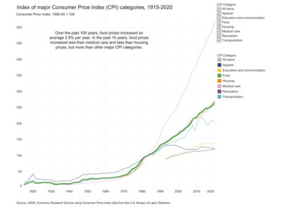 2021 Food Price Inflation