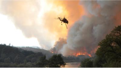 CA fire