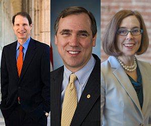 Wyden, Merkley, and Brown